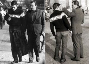 Luchino Visconti, Alain Delon ,(Rocco and his brothers)