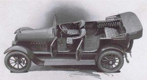 Τα αυτοκίνητα 100 χρόνια πριν, 1917