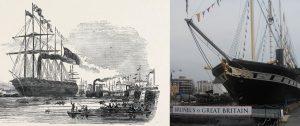 """ατμόπλοιο """"Great Britain"""", σιδερένιο, ελικοκίνητο υπερωκεάνιο"""