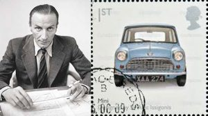 British Motor Corporation παρουσιάζει το Mini Cooper που σχεδίασε ο ελληνικής καταγωγής Alec Issigonis [Αλέξανδρος Ισιγώνης].