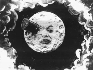 Ζωρζ Μελιέ, Το Ταξίδι στη Σελήνη, Le voyage dans la lune, Moon
