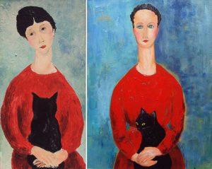 Οι γάτες στην τέχνη, ΓΑΤΑ, ΖΩΓΡΑΦΙΚΗ, ΕΡΓΟ ΤΕΧΝΗΣ, CAT, PAINTINGS, ART, PICASSO, nikosonline.gr