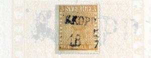 SlideWR_Sweden_ κίτρινο σουηδικό γραμματόσημο