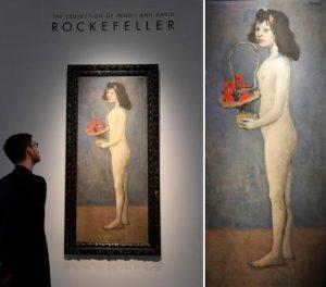 Christie's, Rockefeller collection, art, auction of the century, ΚΡΙΣΤΙΣ, ΣΥΛΛΟΓΗ ΡΟΚΦΕΛΕΡ, ΕΡΓΑ ΤΕΧΝΗΣ, ΠΙΝΑΚΕΣ, ΠΙΚΑΣΟ, PICASSO, nikosonline.gr