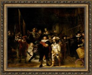 Η Νυχτερινή περίπολος, De Nachtwacht, πίνακας ζωγραφικής, Ρέμπραντ, Rembrandt, Rijksmuseum, nikosonline.gr