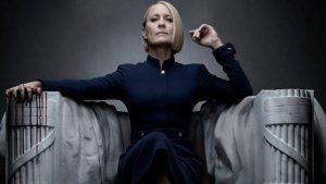 HOUSE OF CARDS, ROBIN WRIGHT, CLAIRE UNDERWOOD, TV SERIES, nikosonline.gr