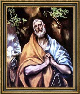 """Θ α ν α τ ο ι 1614 - Doménikos Theotokópoulos (Δομήνικος Θεοτοκόπουλος), γνωστός ως  El Greco (""""The Greek"""")."""