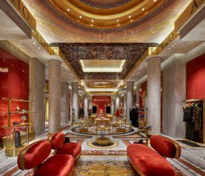 καινούργια boutique Dolce & Gabbana, Ρώμη, μαγαζί, κατάστημα, Piazza di Spagna, ψηφιακή τοιχογραφία, digital fresco, Kitsch, nikosonline.gr