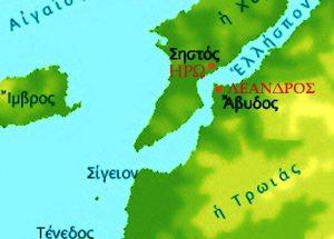 Όλη η ιστορία του Λέανδρου, Hero & Leandros, mythology, Ηρώ και Λέανδρος, Μυθολογογία, nikosonline.gr