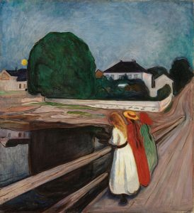 παραισθήσεις, μανίες καταδίωξης, Edvard Munch, Έντβαρντ Μουνκ, Νορβηγός, ζωγράφος, Κραυγή, εικαστικά, nikosonline.gr